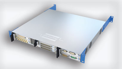 USB/LXI chassis aids test functionality in tight spaces