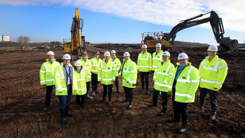 Work starts on Premier Farnell distribution hub