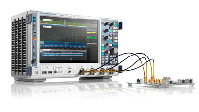 Rohde & Schwarz fields complete test team at electronica