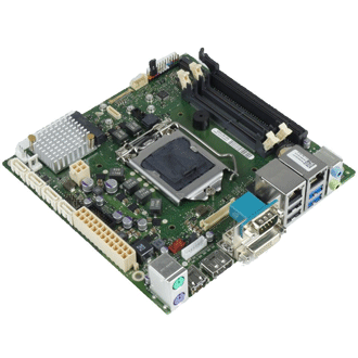 Industrial mainboard copes with harsh environments