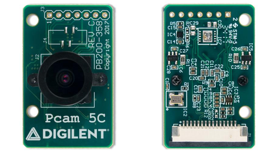 5-megapixel colour imaging module enhances image quality