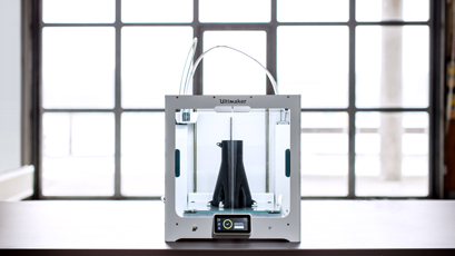 3D printer creates prototypes and end use components