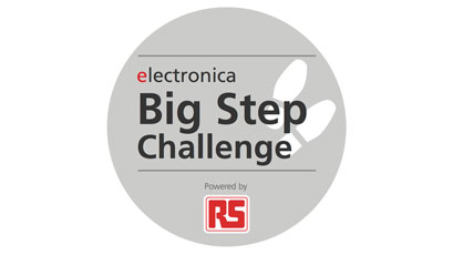 Step to it: RS supports electronica visitors challenge