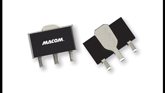 RF amplifier provides 18 dB of ultra-flat gain