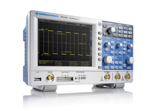 Low-cost oscilloscope packs in six functions