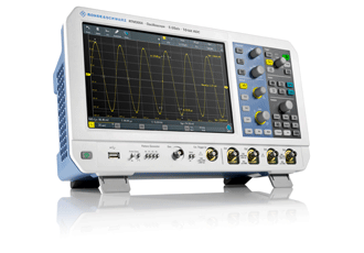 Embedded oscilloscopes boast low signal noise