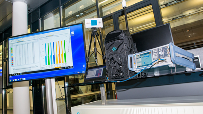 "Indoor 5G NR network experiment ""a success"""