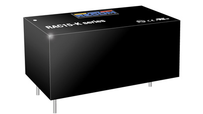AC/DC power supplies deliver 15W or 20W of power