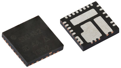 Buck regulators supplies high continuous current at 2MHz