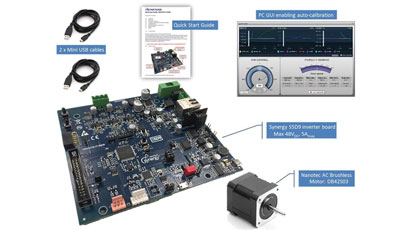 Evaluation kit cuts motor control prototyping time