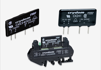 Solid-state relays suit high-density PCB applications