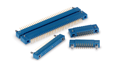 PCB connectors resistant to shock and vibration