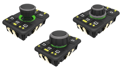 Joystick controllers withstand rugged environments