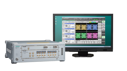Four-channel scope delivers BER test for 100G/400G optical modules