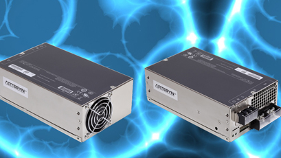 AC-DC power supplies feature I2C interface