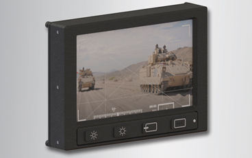 Rugged display supports 360 degree functionality