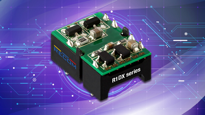 DC-DC converters drive capacitive loads of up to 1000µF