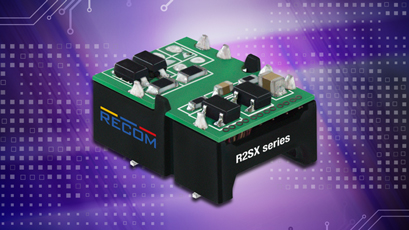 DC/DC converters offer space-saving solution