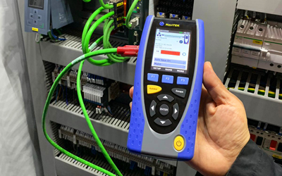 Handheld network tester ousts laptops in the field