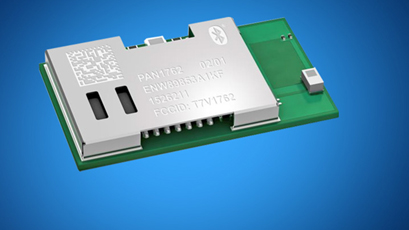 BLE module enables symbol rate of 2Mbps