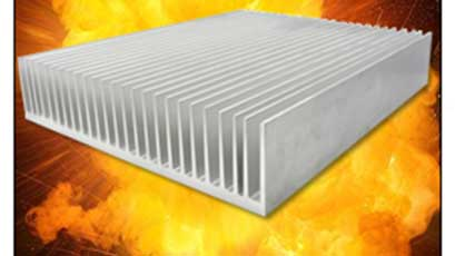 Heat sink extrusions cover wide range of bar lengths