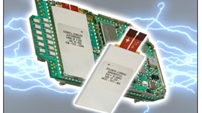 Ultra-Flat capacitor replaces arrays of SMT capacitors