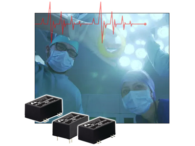 DC-DC converters meet medical safety standards