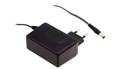 Medical power adaptors plug into any AC wall socket