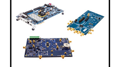 Dual RF transceiver has tuning range of 300MHz to 6GHz