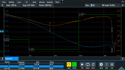 Oscilloscopes enhanced with software option