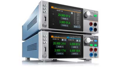 Power supplies boast fast load recovery time of less than 30µs