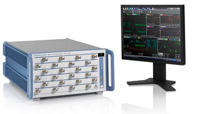 VNAs measure 24 test ports simultaneously