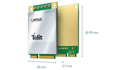 LTE data card reaches up to 1.2Gbps download