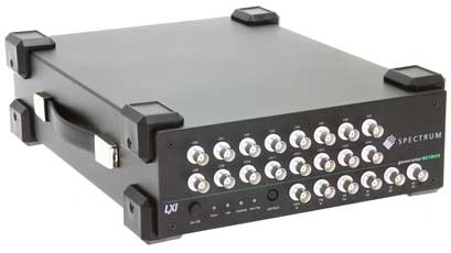 Portable AWG allows signal-generation for up to 16 channels
