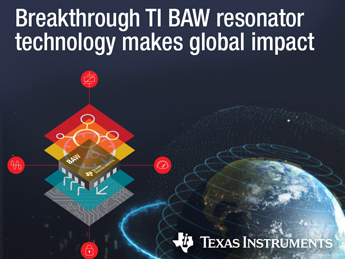 BAW resonator technology-based devices debut at embedded world