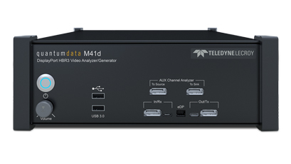 HDMI & DisplayPort instruments offer flexible test options