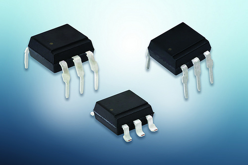 Optocouplers feature static dV/dt of 1000 V/μs
