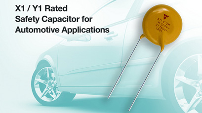 Ceramic disc capacitors meet Class X1 / Y1 applications