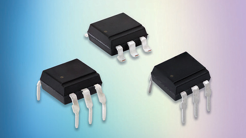 Space-saving optocouplers offer 800V off-state voltage