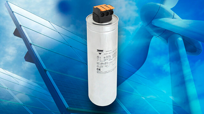 Power capacitors cut assembly time, aid reliability