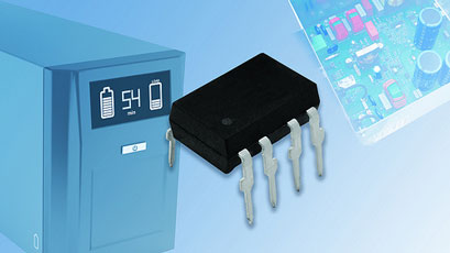 MOSFET driver features high peak output current of 2.5A