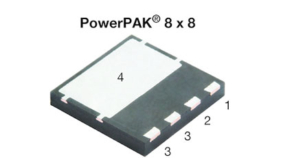Power MOSFET lowers conduction and switching losses