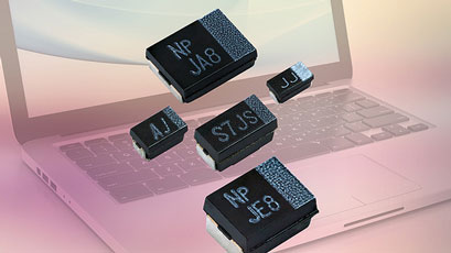 Capacitors enable design of thinner end products
