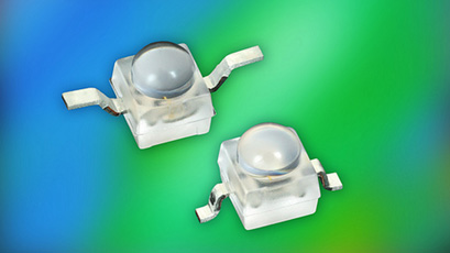 Compact LEDs feature latest InGaN/Sapphire technology
