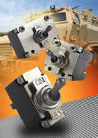 Sealed toggle circuit breakers handle tough conditions