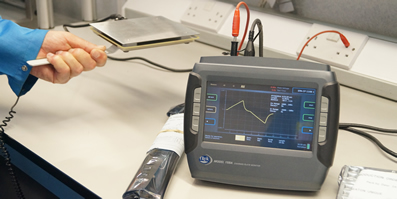 Charged plate monitor upgrades ESD programme