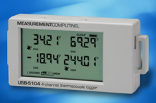 Thermocouple data logger meets many applications