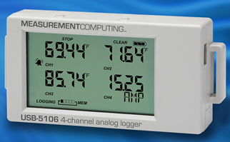 Low cost data logger boasts built-in LCD screen