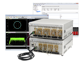 Test solution generates multi-channel LTE/LTE-A configurations