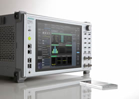 Software upgrades radio communication analyser capabilities